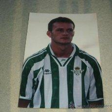 Coleccionismo deportivo: FOTO FIRMADA DEL JUGADOR DEL BETIS ( VIDAKOVIC CREO ). Lote 26851937