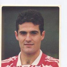 Coleccionismo deportivo: POSTAL GORKA BIDAURRAZAGA, OFICIAL ATHLETIC DE BILBAO, FIRMADA. Lote 26360007