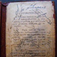 Coleccionismo deportivo: ATLÉTICO DE MADRID - COLECCIÓN DE AUTÓGRAFOS JUGADORES AÑOS 60 EN ANTIGUO CARNET SOCIO RARO Y ÚNICO. Lote 41765046