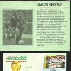Coleccionismo deportivo: SOBRE PRIMER DIA COPA MUNDIAL DE FUTBOL MEXICO 86- AUTOGRAFO- FIRMA ORIGINAL DAVID SPEEDIE ESCOCIA. Lote 48847104