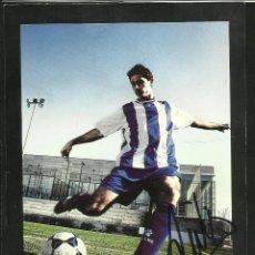 Coleccionismo deportivo: TARJETA KELME JUGADOR DE FUTBOL VICTOR SANCHEZ DEPORTIVO LA CORUÑA- AUTOGRAFO- FIRMA ORIGINAL. Lote 48865462