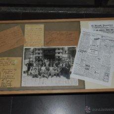 Coleccionismo deportivo: (M) SELECCION ESPAÑOLA DE FUTBOL , ITALIA 2 - ESPAÑA 3 , 1930 , FOTOGRAFIA DEDICATORIA POR ZAMORA. Lote 49690696