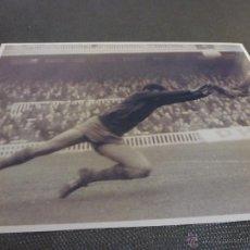 Coleccionismo deportivo: 1968,CAMP NOU,BARÇA-ZARAGOZA,SADURNI DESPEJA-FIRMA ORIGINAL DE SADURNI EN EL REVERSO(13 X 18CM). Lote 52298232