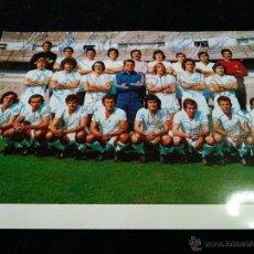 Coleccionismo deportivo: GRAN FOTO POSTAL DEL REAL MADRID CON AUTOGRAFOS 24 FIRMAS DE PUÑO Y LETRA 21X15 CENT 1974-75. Lote 54326345