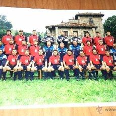 Coleccionismo deportivo: SELECCIÓN ESPAÑOLA EURO 96 FOTO ORIGINAL KODAK CON AUTÓGRAFOS CONCENTRACIÓN PUENTE VIESGO 1996!!!. Lote 55012727