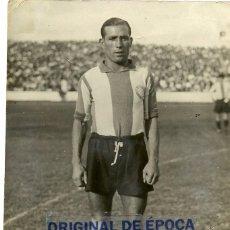 Coleccionismo deportivo: (F-1567)FOTOGRAFIA DEDICADA DE JOSE PARDO MONTOYA,CLUB DEPORTIVO ESPAÑOL,TEMPORADA 1935-36. Lote 57575290