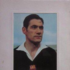 Coleccionismo deportivo: CARTA CON AUTOGRAFO DE LA CENA HOMENAJE A ANTONIO RAMALLETS - C.F. BARCELONA AÑO 1962. Lote 58012288