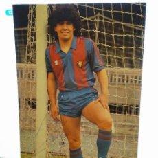 Coleccionismo deportivo: FOTO MARADONA AUTOGRAFO FUTBOL CLUB FC BARCELONA CF BARÇA FC FIRMA ORIGINAL. Lote 58271311