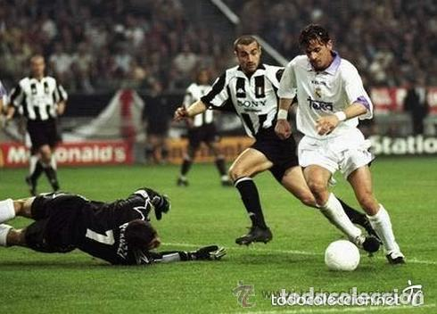 Coleccionismo deportivo: Autógrafo y dedicatoria original de Pedja Mijatovic 1998 Séptima Copa Europa - Foto 4 - 73077267