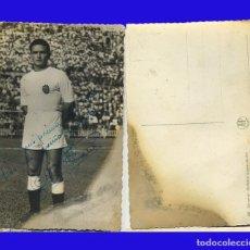Coleccionismo deportivo: ANTIGUA POSTAL FOTOGRÁFICA SOCRATES JUGADOR DEL VALENCIA CLUB FUTBOL CON AUTOGRAFO . Lote 74211359