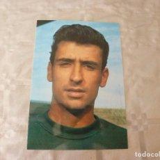Coleccionismo deportivo: POSTAL SADURNI -F.C.BARCELONA-BARÇA-CON AUTOGRAFO ORIGINAL-FOTO SEGUÍ-TEMP.67-68. Lote 86822764
