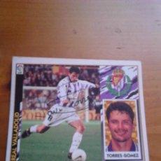 Coleccionismo deportivo: CROMO AUTOGRAFIADO TORRES GÓMEZ (VALLADOLID).. Lote 98192791