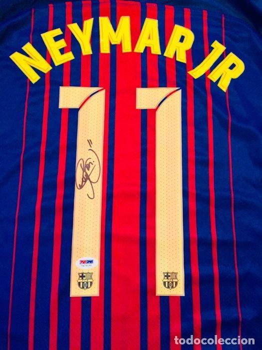 1e5b27e262333 NEYMAR - AUTOGRAFO ORIFINAL EN FC BARCELONA - CON CERTIFICADO DE  AUTENTICIDAD (Coleccionismo Deportivo -