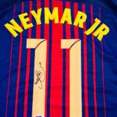 Coleccionismo deportivo: NEYMAR - AUTOGRAFO ORIFINAL EN FC BARCELONA - CON CERTIFICADO DE AUTENTICIDAD. Lote 109008959