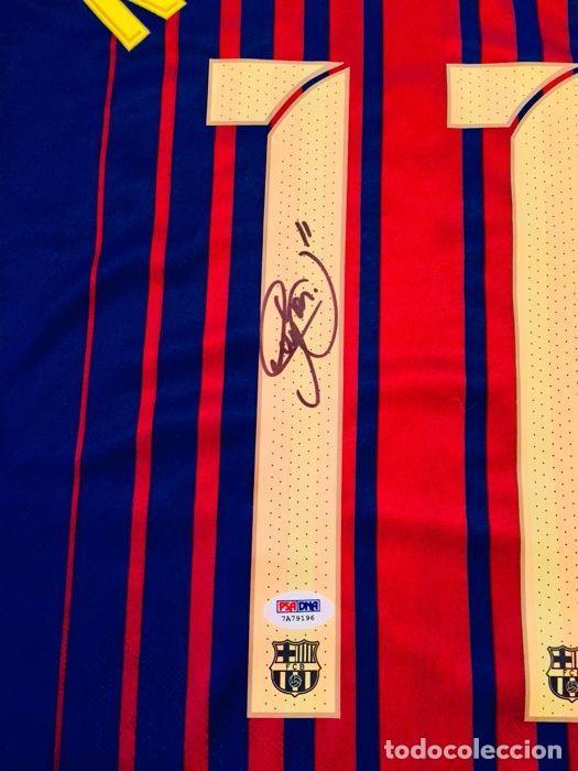 d924cd977a011 Coleccionismo deportivo  NEYMAR - AUTOGRAFO ORIFINAL en FC BARCELONA - Con  CERTIFICADO DE AUTENTICIDAD -