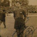 Coleccionismo deportivo: ANTIGUA FOTO FOTOGRAFIA JUGADOR LEVANTE U D AÑOS 50 / 60 FIRMADA Y DEDICADA FOTO IZQUIERDO (18). Lote 110413947
