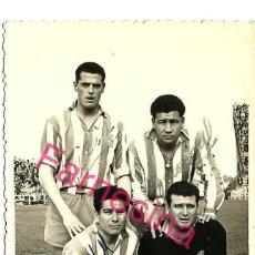 Coleccionismo deportivo: AUTOGRAFOS DE 4 JUGADORES DEL ESPAÑOL (GAMIZ,SOLER,BENAVIDES,MOLL) TEMPORADA 56-57. Lote 112513259