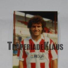 Coleccionismo deportivo: FOTO FOTOGRAFIA JUGADOR DEL CLUB DEPORTIVO LOGROÑES. RUGGERI. FIRMADA. TDKP1. Lote 113890427