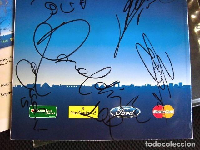 Coleccionismo deportivo: FCBARCELONA PROGRAMA FIRMADO PLANTILLA BARÇA FINAL PARIS 2006 CERTIFICADO ORIGINAL FUTBOL CHAMPIONS - Foto 8 - 114338047