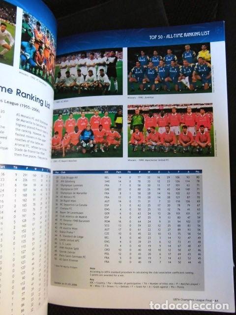Coleccionismo deportivo: FCBARCELONA PROGRAMA FIRMADO PLANTILLA BARÇA FINAL PARIS 2006 CERTIFICADO ORIGINAL FUTBOL CHAMPIONS - Foto 12 - 114338047