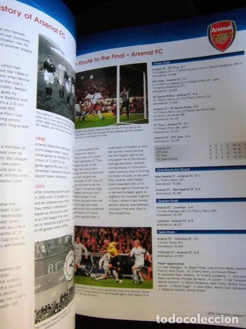 Coleccionismo deportivo: FCBARCELONA PROGRAMA FIRMADO PLANTILLA BARÇA FINAL PARIS 2006 CERTIFICADO ORIGINAL FUTBOL CHAMPIONS - Foto 14 - 114338047