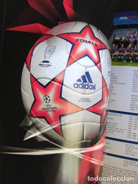 Coleccionismo deportivo: FCBARCELONA PROGRAMA FIRMADO PLANTILLA BARÇA FINAL PARIS 2006 CERTIFICADO ORIGINAL FUTBOL CHAMPIONS - Foto 19 - 114338047