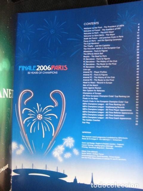 Coleccionismo deportivo: FCBARCELONA PROGRAMA FIRMADO PLANTILLA BARÇA FINAL PARIS 2006 CERTIFICADO ORIGINAL FUTBOL CHAMPIONS - Foto 20 - 114338047