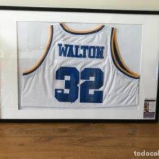 Coleccionismo deportivo: CAMISETA ADIDAS DE UCLA FIRMADA POR LEYENDA BILL WALTON. Lote 115368987