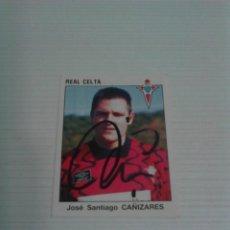 Coleccionismo deportivo: CROMO AUTOGRAFIADO CAÑIZARES (CELTA).. Lote 115390351