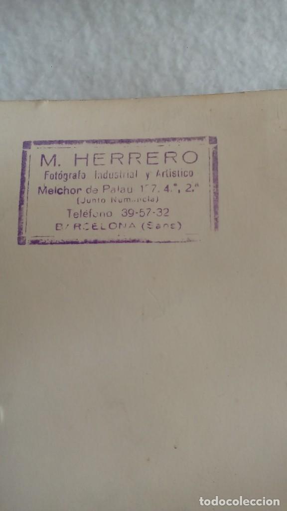 Coleccionismo deportivo: RARA FOTO AUTOGRAFO ORIGINAL DE LADISLAO KUBALA DEL F.C.BARCELONA DE 1956, MIDE 24 X 18 CMS - Foto 6 - 117158315