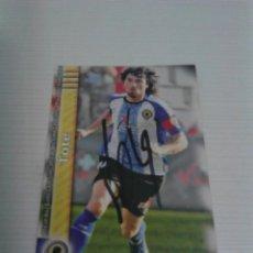 Coleccionismo deportivo: CROMO AUTOGRAFIADO TOTE (HÉRCULES).. Lote 122097495