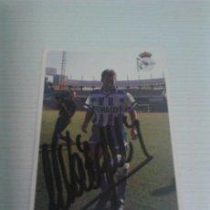 Coleccionismo deportivo: CROMO AUTOGRAFIADO M. VÁZQUEZ (DEPORTIVO).. Lote 122108243
