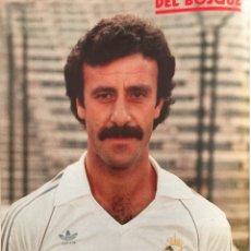 Coleccionismo deportivo: POSTER DE DEL BOSQUE CON AUTOGRAFO DE PUÑO Y LETRA. Lote 123149527