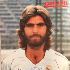 Coleccionismo deportivo: POSTER DE JUAN JOSÉ CON AUTOGRAFO DE PUÑO Y LETRA. Lote 123344599