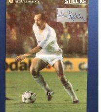 Coleccionismo deportivo: POSTER DE STIELIKE CON AUTOGRAFO DE PUÑO Y LETRA. Lote 123344695