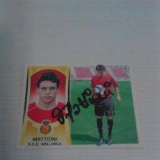 Coleccionismo deportivo: CROMO AUTOGRAFIADO MATTIONI (MALLORCA).. Lote 124535307