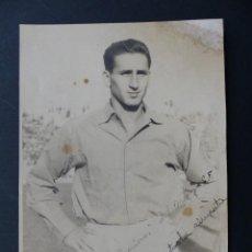 Coleccionismo deportivo: VALENCIA C.F. - ANTONIO FUERTES - AÑOS 1940-50 - AUTOGRAFO ORIGINAL. Lote 127772851