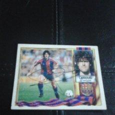 Coleccionismo deportivo: CARRERAS F.C. BARCELONA CROMO AUTOGRAFIADO.. Lote 128479639