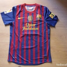 Coleccionismo deportivo: CAMISETA F.C. BARCELONA PEDRO FIRMADA TODA LA PLANTILLA 2011-12. 19 AUTÓGRAFOS MESSI, XAVI, INIESTA.. Lote 131777594