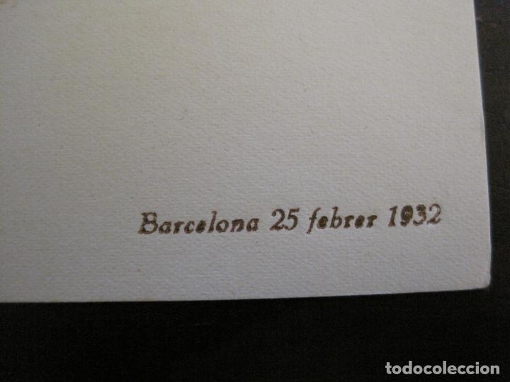 Coleccionismo deportivo: AUTOGRAFOS- MENU SOPAR COMIAT ANY 1932-ESPORTS MUNTANYA-VER FOTOS -(V-15.058) - Foto 4 - 136619782