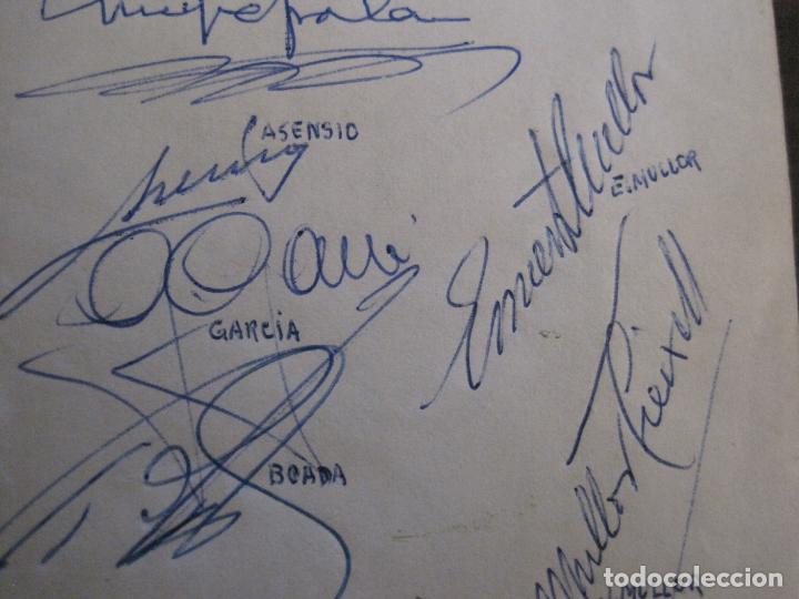 Coleccionismo deportivo: AUTOGRAFOS- MENU APAT ANY 1983-PATI BLAU-ESPORTS MUNTANYA-VER FOTOS -(V-15.062) - Foto 9 - 136622158