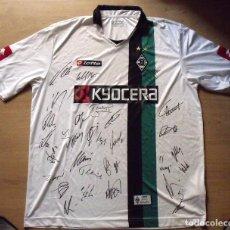 Coleccionismo deportivo: CAMISETA 31 AUTÓGRAFOS. FUTBOL BORUSSIA MÖNCHENGLADBACH. AUTOGRAPHS 2008-2009. LOTTO. KYOCERA. XL.. Lote 136737162