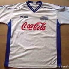 Coleccionismo deportivo: CAMISETA HONDURAS 24 AUTÓGRAFOS FIRMAS SELECCIÓN FUTBOL JOMA SERIGRAFIADAS L 2000-2001. AUTOGRAPHS. Lote 136748050