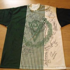 Coleccionismo deportivo: CAMISETA 22 AUTÓGRAFOS CLUB FUTBOL SANTIAGO WANDERERS VALPARAISO. CHILE. XL. BUEN ESTADO. . Lote 140488214
