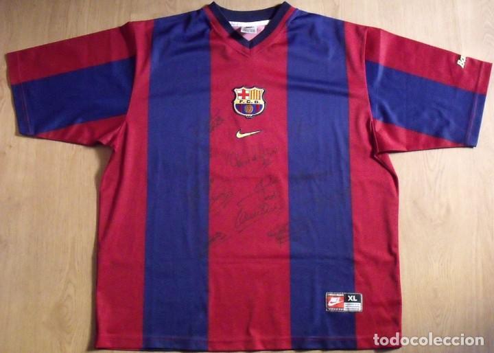 camiseta firmada 12 autógrafos f.c.barcelona ni - Comprar Autógrafos ... 95a41aef4cb