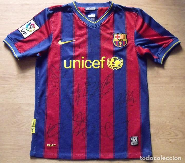 Camiseta F C Barcelona 2009 10 9 Autografos N Sold Through Direct Sale 143295586