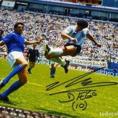 Coleccionismo deportivo: MARADONA - AUTÓGRAFO, FIRMADO - ARGENTINA. Lote 143768390