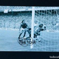 Coleccionismo deportivo: PAOLO ROSSI - AUTOGRAFO ORIGINAL EN FOTO ( 20X30 CM ) - CON CERTIFICADO DE AUTENTICIDAD. Lote 147078454