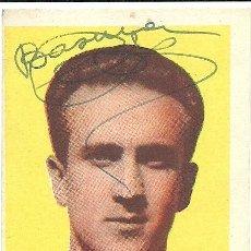 Coleccionismo deportivo: (F-190168G)CROMO DE BASORA - C.F.BARCELONA - CHOCOLATES TORRAS - AUTOGRAFO ORIGINAL. Lote 147610790