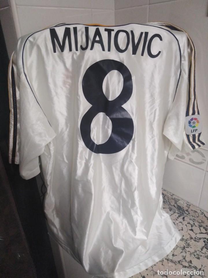 Coleccionismo deportivo: Camiseta firmada Mijatovic - Foto 3 - 152545414